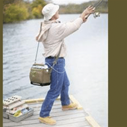 SimplyGo Portable Concentrator with Fisherman